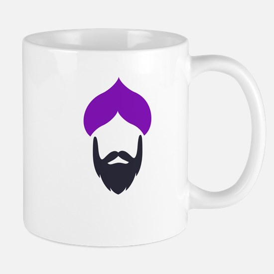Funky Singh Purple Mugs
