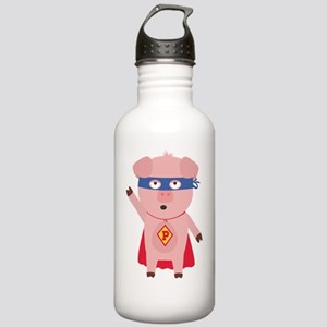 Superhero Pig Stainless Water Bottle 1.0L