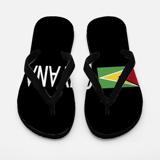 Guyanese Flag & Guyana Flip Flops