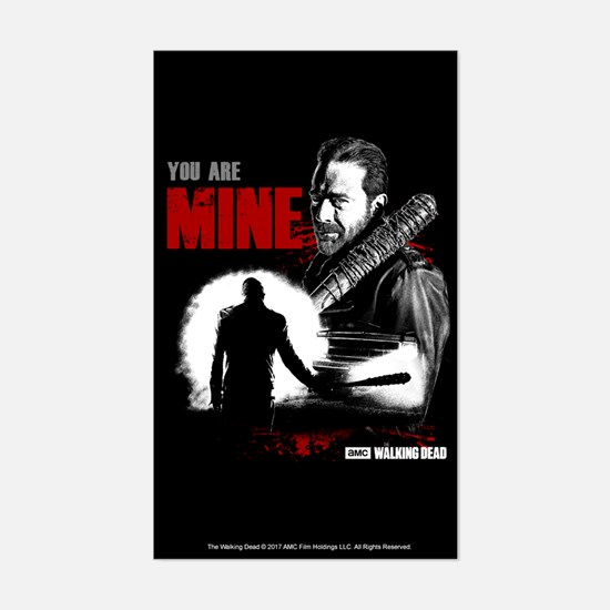 Negan You Are Mine Decal