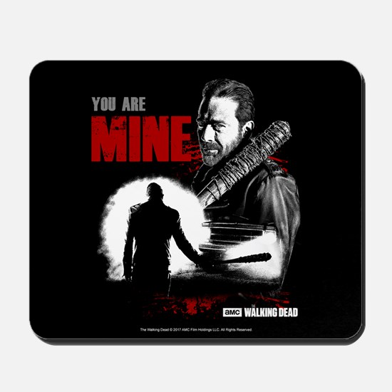 Negan You Are Mine Mousepad