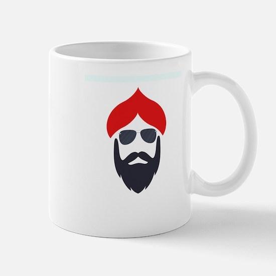 Funky Singhs Red Sunglasses Mugs