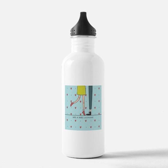 Fancy Mr. and Mrs. Lov Water Bottle