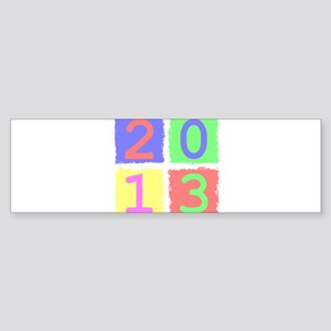 2013 Bumper Sticker