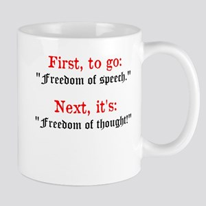 Freedom Of Thought Mugs