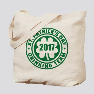 St. Patricks day drinking team 2017 Tote Bag