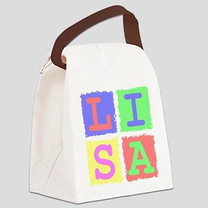 Lisa Canvas Lunch Bag