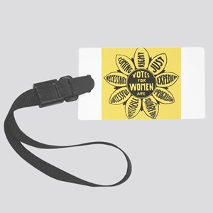 Votes for Women Large Luggage Tag