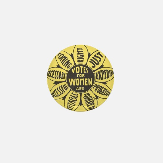 Votes for Women Mini Button