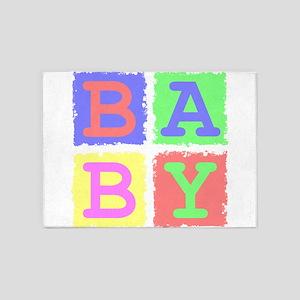 Baby 5'x7'Area Rug