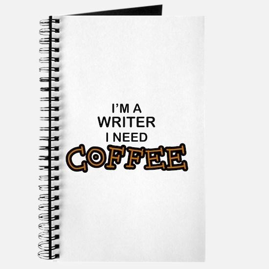 Writer Need Coffee Journal