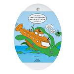 Nemo Scout Oval Ornament