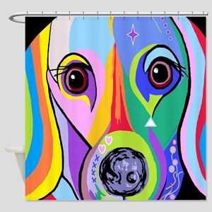 Dachshund 2 Shower Curtain