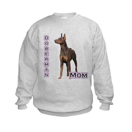 Dobie(rust) Mom4 Kids Sweatshirt