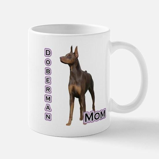 Dobie(rust) Mom4 Mug