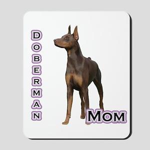 Dobie(rust) Mom4 Mousepad