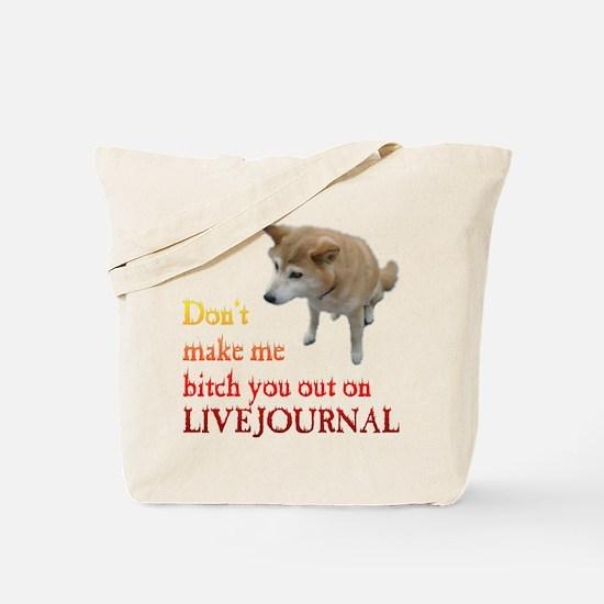 LiveJournal Shiba Tote Bag