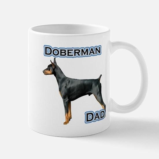 Dobie(blk) Dad4 Mug