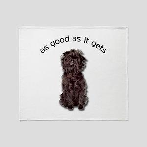 Good Affenpinscher Throw Blanket