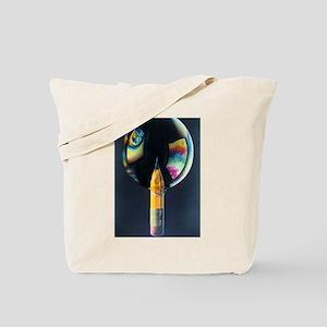 Pencil Bubble Tote Bag