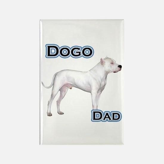 Dogo Dad4 Rectangle Magnet