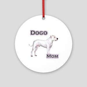 Dogo Mom4 Ornament (Round)