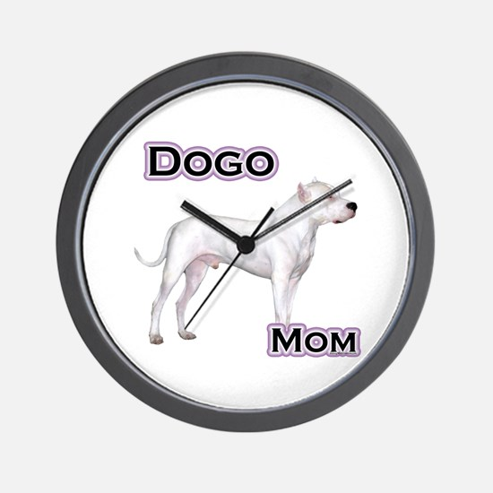 Dogo Mom4 Wall Clock