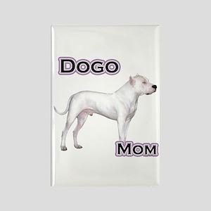 Dogo Mom4 Rectangle Magnet