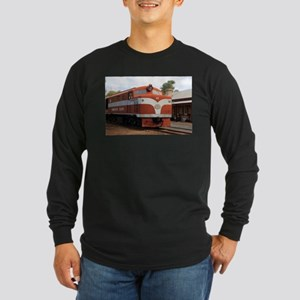 Old Ghan Locomotive, Alice Spr Long Sleeve T-Shirt