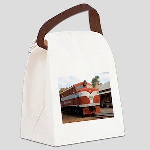 Old Ghan Locomotive, Alice Spring Canvas Lunch Bag