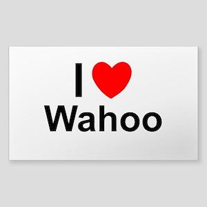 Wahoo Sticker (Rectangle)