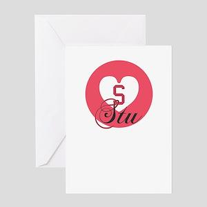 stu Greeting Cards