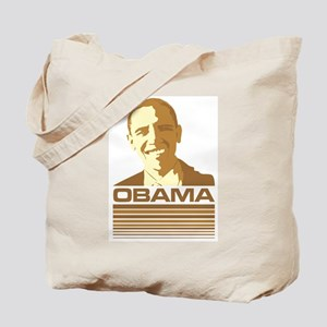 Barack Obama (Retro Brown) Tote Bag