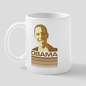 Barack Obama (Retro Brown) Mug