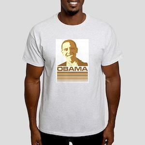 Barack Obama (Retro Brown) Light T-Shirt