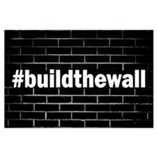 #buildthewall Large Poster