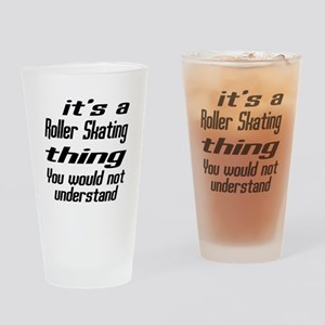 It Is Roller Skating Thing You Woul Drinking Glass