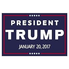 President Trump Large Poster