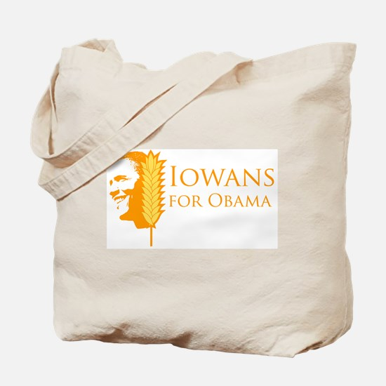 Iowans for Obama  Tote Bag