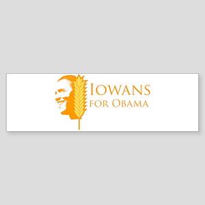 Iowans for Obama Bumper Sticker