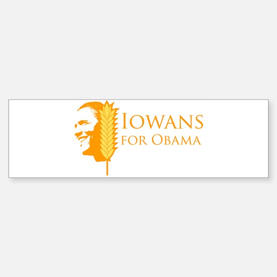 Iowans for Obama Bumper Bumper Bumper Sticker