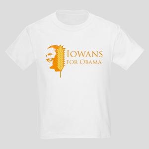Iowans for Obama  Kids Light T-Shirt