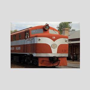Old Ghan Locomotive, Alice Springs, Austra Magnets