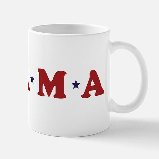Obama (simple stars) Mug