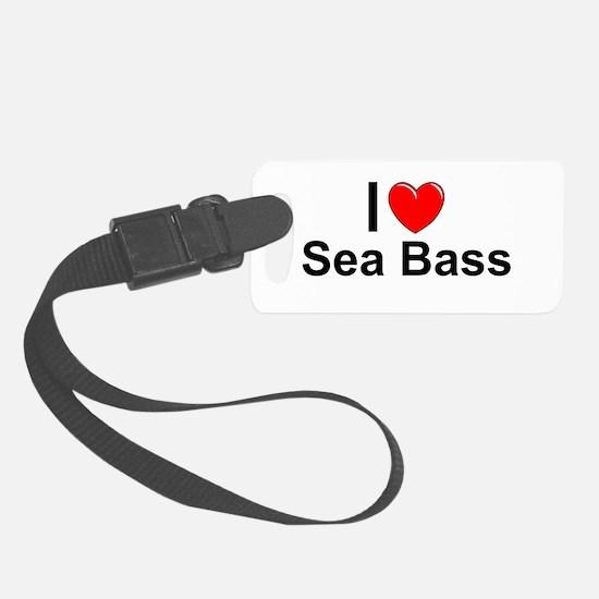 Sea Bass Luggage Tag