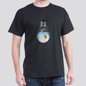 LightBulb Gold Fish L T-Shirt