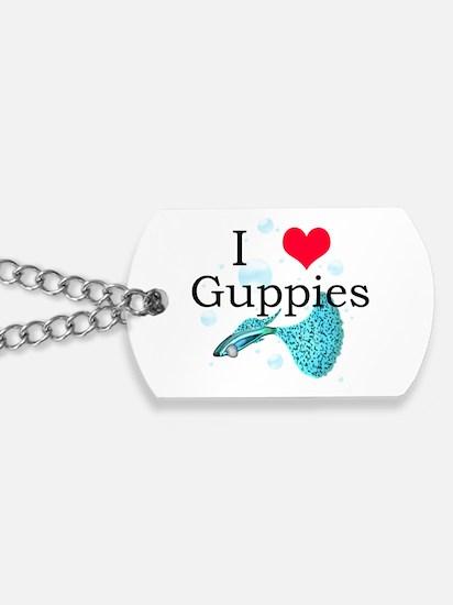 Funny Guppy Dog Tags