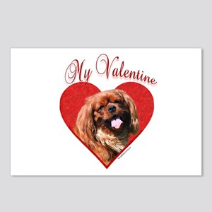 English Toy Valentine Postcards (Package of 8)