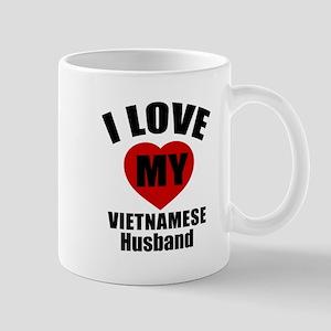 I Love My Vietnamese Husband Mug