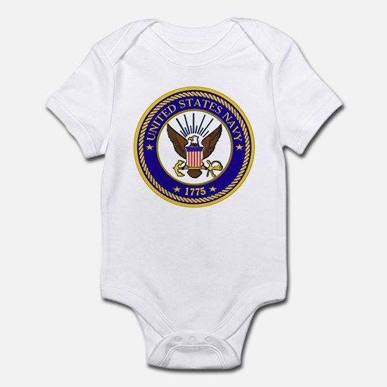 US Navy Emblem Infant Bodysuit